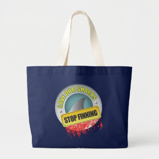 Save Our Sharks Stop Finning Bag