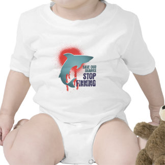 Save Our Sharks Stop Finning T-shirts