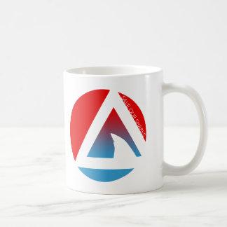 save our sharks tricircles coffee mug