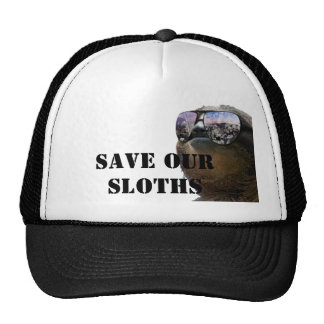 Save our Sloths Hat