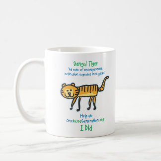 Save our Tiger Coffee Mug