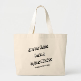 Save our Whales Tote Bags