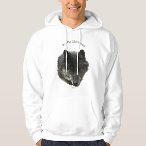 SAVE OUR WILD WOLVES Wildlife Supporter Shirt