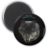 SAVE OUR WILDERNESS CITIZENS! Wild Wolf Magnet