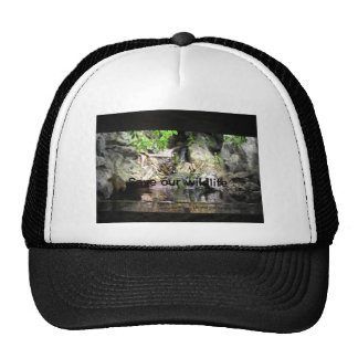 Save our wildlife mesh hat