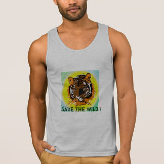 Save our wildlife - Tiger Tank Top