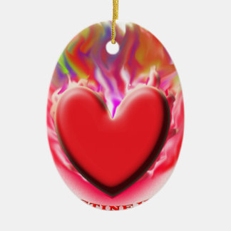 Save Palestine Gaza Heart Christmas Tree Ornaments