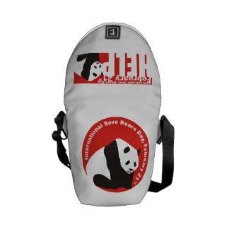 save pandas isbd courier bag