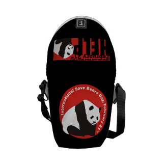 save pandas isbd messenger bag