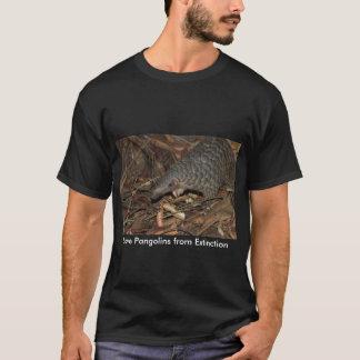Save Pangolins from Extinction T-shirt Black