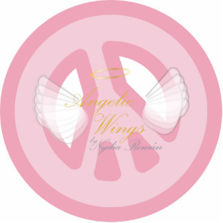 Save Peace Manthram, On Angelic Wings-Sculpture Cutout