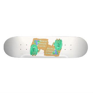 save planet earth skate board
