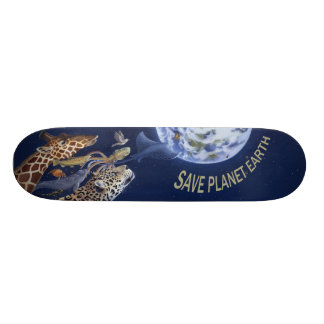 Save Planet Earth Skateboard