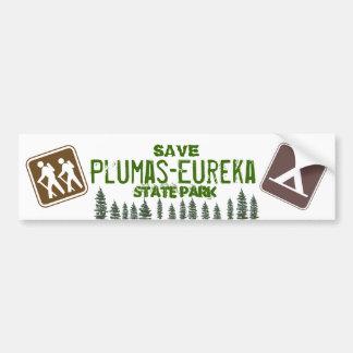 Save Plumas-Eureka State Park Bumper Sticker