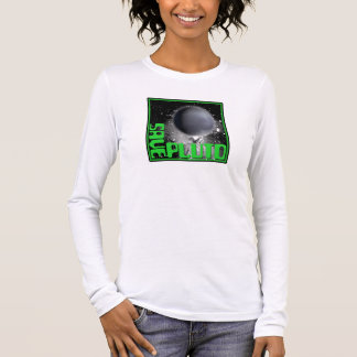 Save Pluto (Retro Green) Long Sleeve T-Shirt