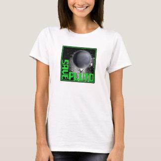 Save Pluto (Retro Green) T-Shirt