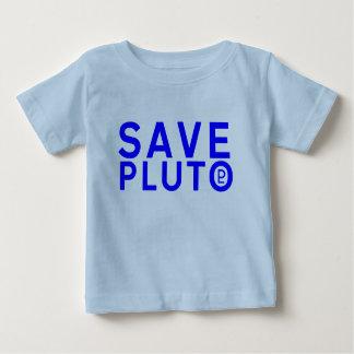 Save Pluto Symbol (Blue) Tee Shirt