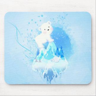 Save Polar Bear Mousepads