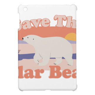 Save Polar Bears iPad Mini Cases