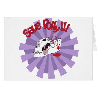 Save Polly the Polar Bear Cards