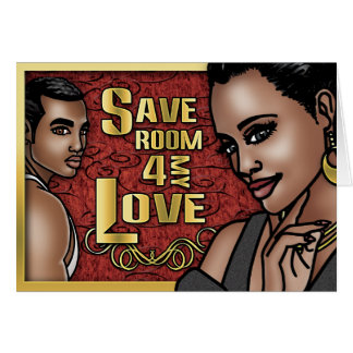 Save Room Greeting Card