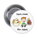 Save room  for cake Button