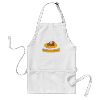 Save room for pie! Holiday Adult Apron
