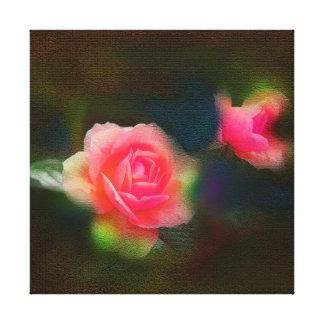 Save rose flower canvas print