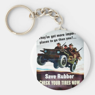 Save Rubber1 Keychains