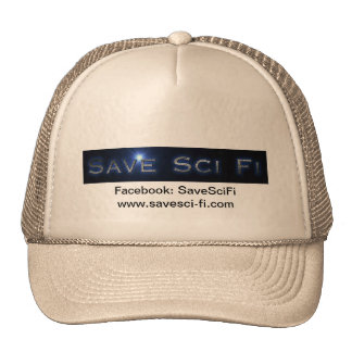 Save Sci Fi Official Convention Hat