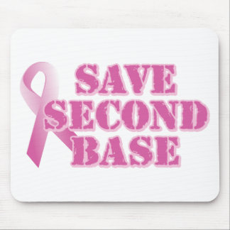 Save Second Base Mouse Pad