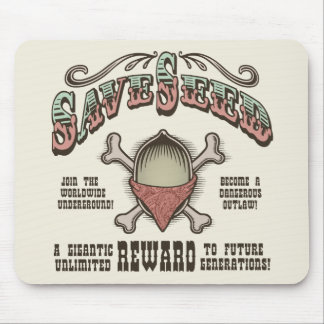 Save Seed Mouse Pad