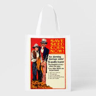Save Seeds Reusable Grocery Bag