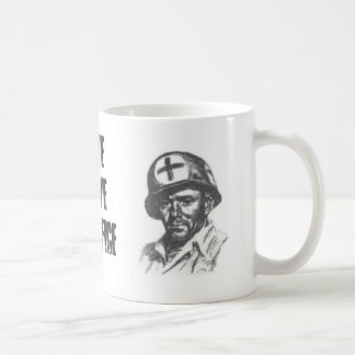 SAVE SERVE SACRIFICE COFFEE MUG