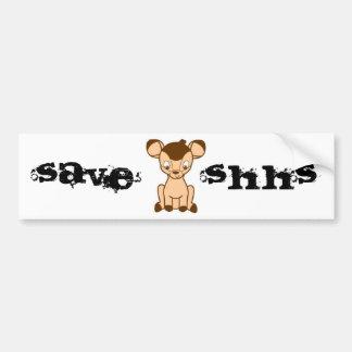 Save SHHS bumper sticker Car Bumper Sticker