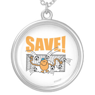 Save! Silver Plated Necklace