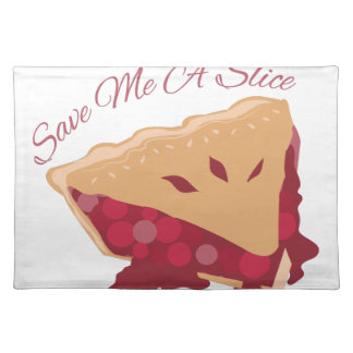 Save Slice Cloth Place Mat