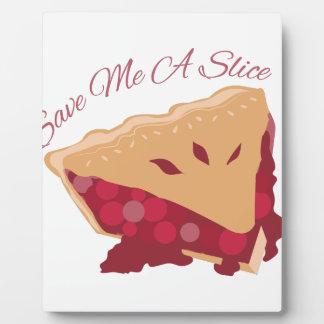 Save Slice Photo Plaques
