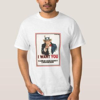 SAVE SOCIAL SECURITY & MEDICARE T-Shirt