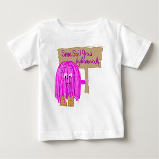 Save Soil Grow Hydroponically Baby T-Shirt