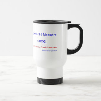 Save SSI & Medicare Thermal Mug