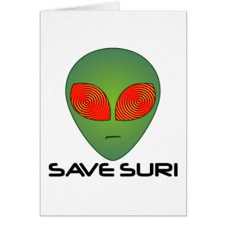 Save Suri Card