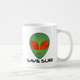 Save Suri Classic White Coffee Mug
