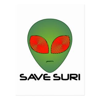 Save Suri Postcard