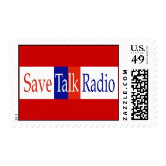 Save Talk Radio Postage Stamps