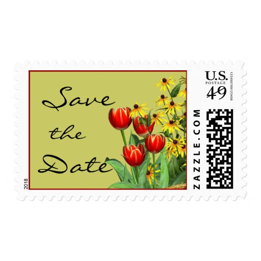 Save th Date Postage Stamp