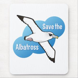Save the Albatross (flight) Mouse Pad