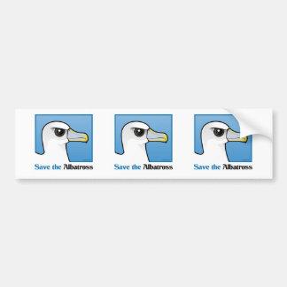 Save the Albatross (portrait) Bumper Sticker