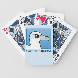Save the Albatross (portrait) Playing Cards