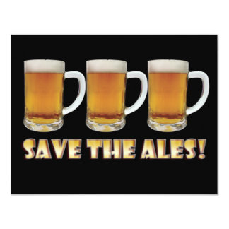 Save The Ales! Card